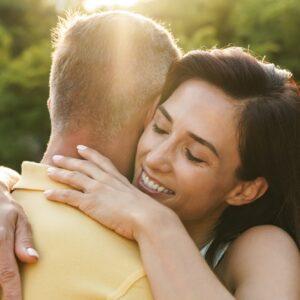 Portrait of happy middle-aged couple Portrait of happy middle-aged couple