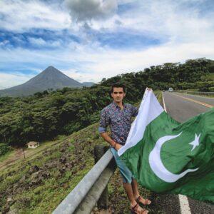 Pakistani Flag Costa Rica