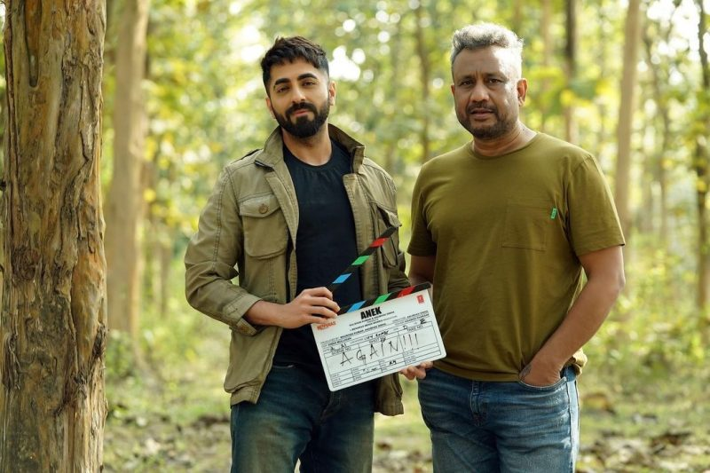 Ayushmann, Anubhav Sinha collaborate again for 'Anek'.(photo:instagram)