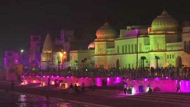 Ayodhya lights