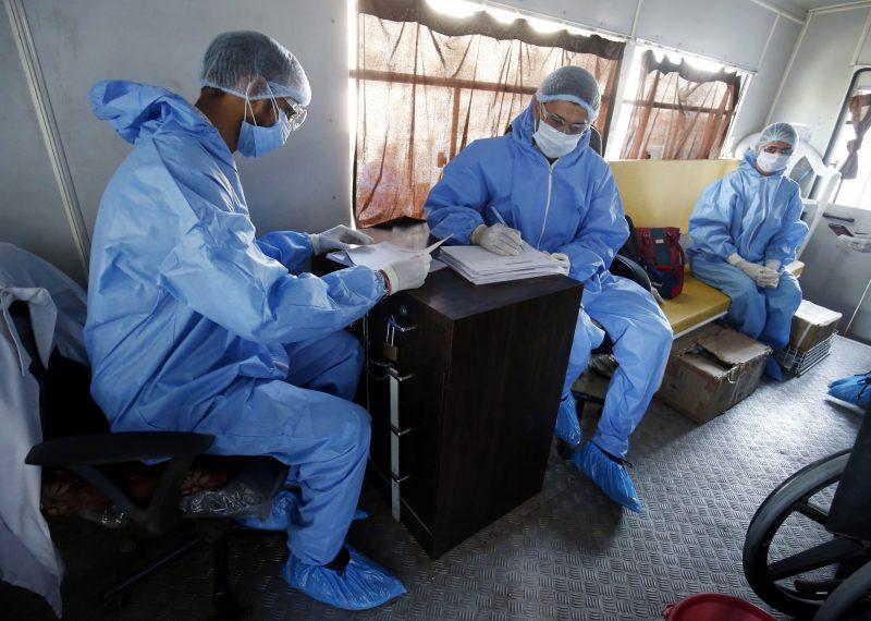 Coronavirus, India, Gujarat. (Photo: IANS/Xinhua)