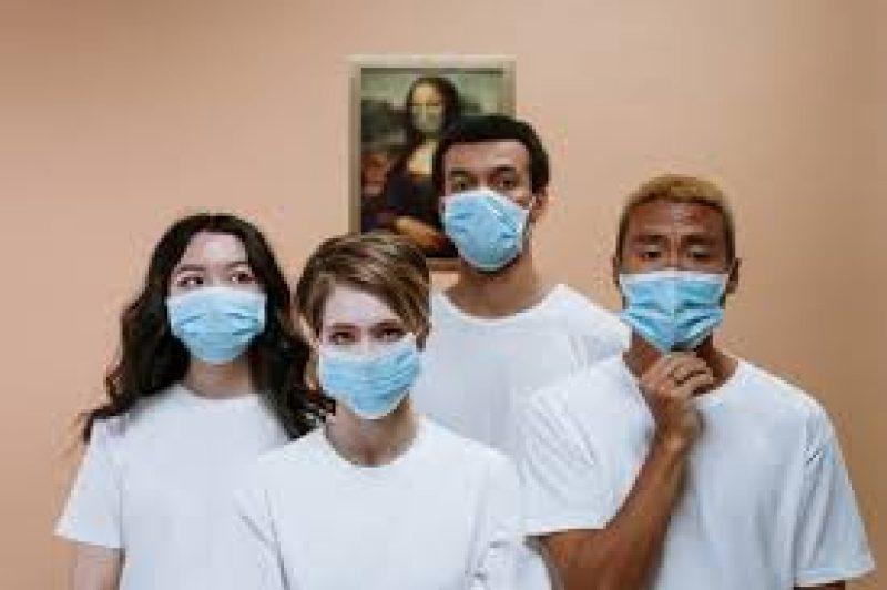 Coronavirus wear maska