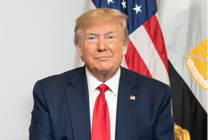 Biarritz: US President Donald Trump at the G7 Summit in Biarritz, France on Aug 26, 2019. (Photo: Twitter/@realDonaldTrump)