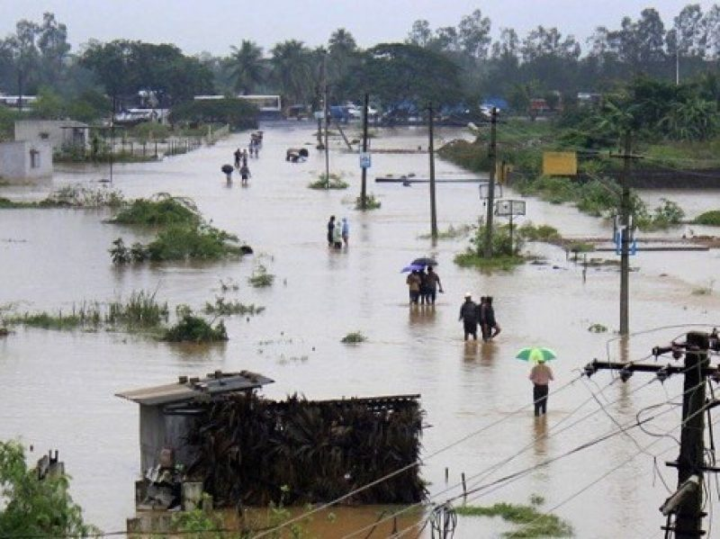 Flood situation in Assam
