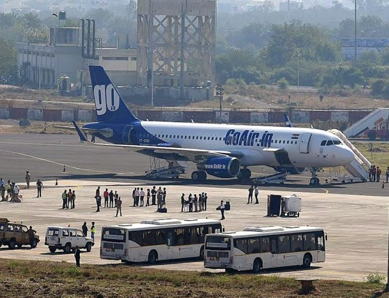 GoAir. (File Photo: IANS)