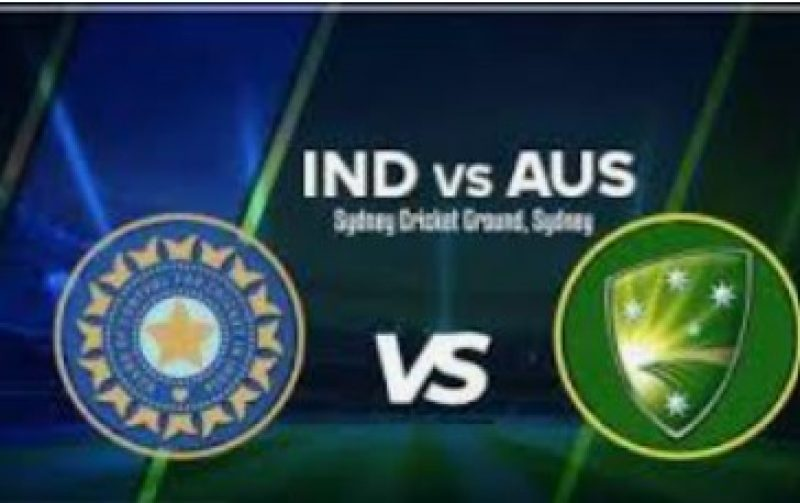IND and AUS ODI 2020