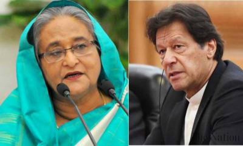 Imran khan and Sheikh Hasina