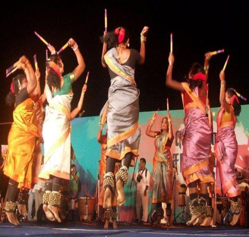Kolattam dance