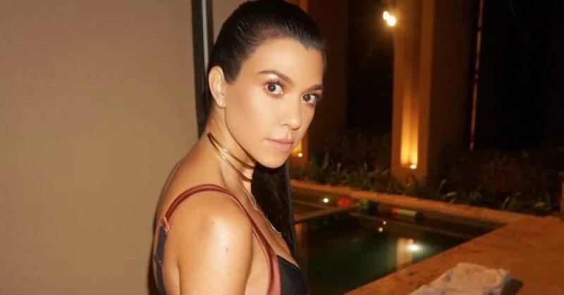 Kourtney Kardashian. (Photo: Twitter/@kourtneykardash)