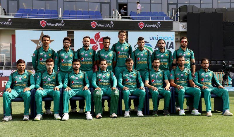 Dubai: Pakistan team ahead of the second match (Group A) of Asia Cup 2018 against Hong Kong at Dubai International Cricket Stadium on Sept 16, 2018. (Photo: Surjeet Yadav/IANS)
