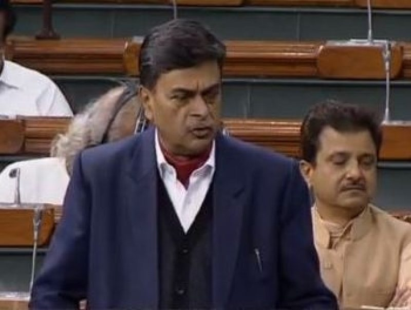 New Delhi: Union Minister RK Singh responds to a question in Lok Sabha during the Question Hour at the Budget Session of Parliament, in New Delhi on March 12, 2020. (Photo: IANS/LSTV)