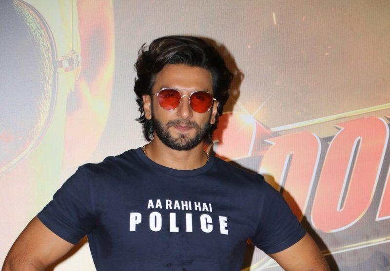 Mumbai: Actor Ranveer Singh at the trailer launch of his upcoming film
