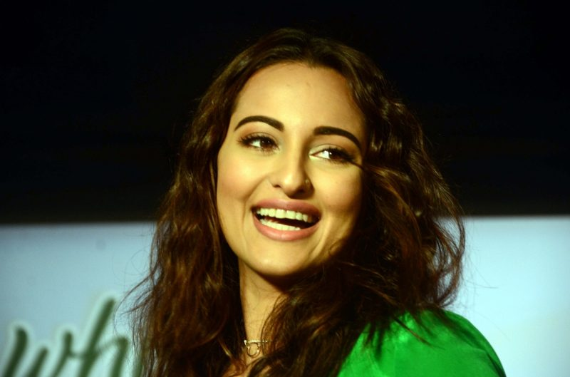 Mumbai: Actress Sonakshi Sinha during a programme in Mumbai on Sept 20, 2016. (Photo: IANS)