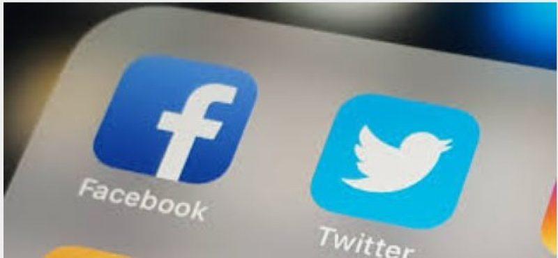 Twitter, Facebook