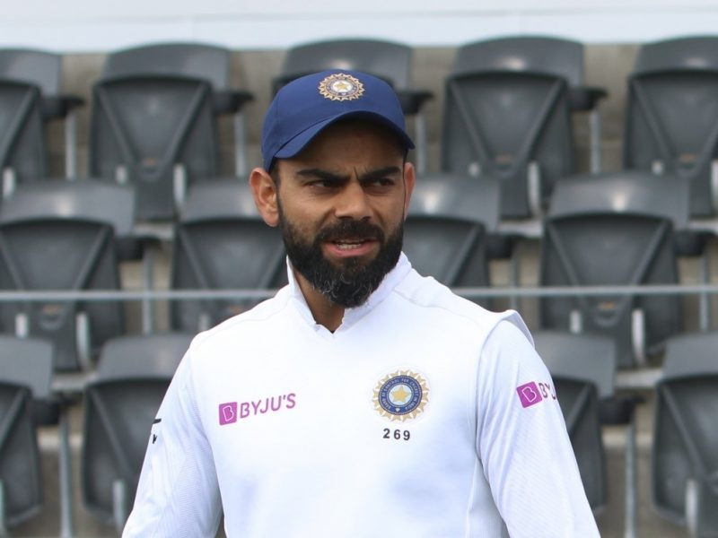 Christchurch: Indian skipper Virat Kohli and New Zealand captain Kane Williamson on Day 3 of the 2nd Test match between India and New Zealand at the Hagley Oval cricket ground in Christchurch, New Zealand on March 2, 2020. (Photo: IANS)