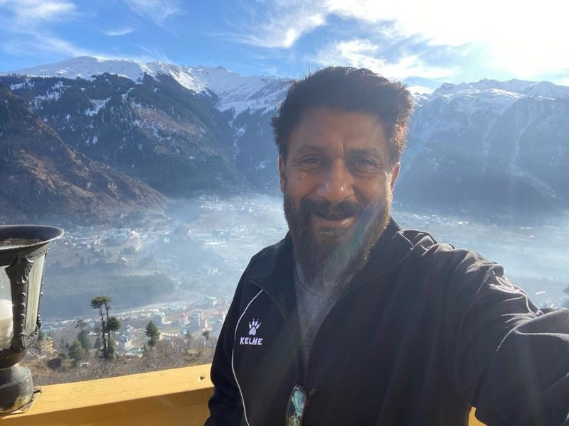 Filmmaker Vivek Ranjan Agnihotri is in the Himalayas, and a source say he is not just vacationing there but also working on the script of his movie