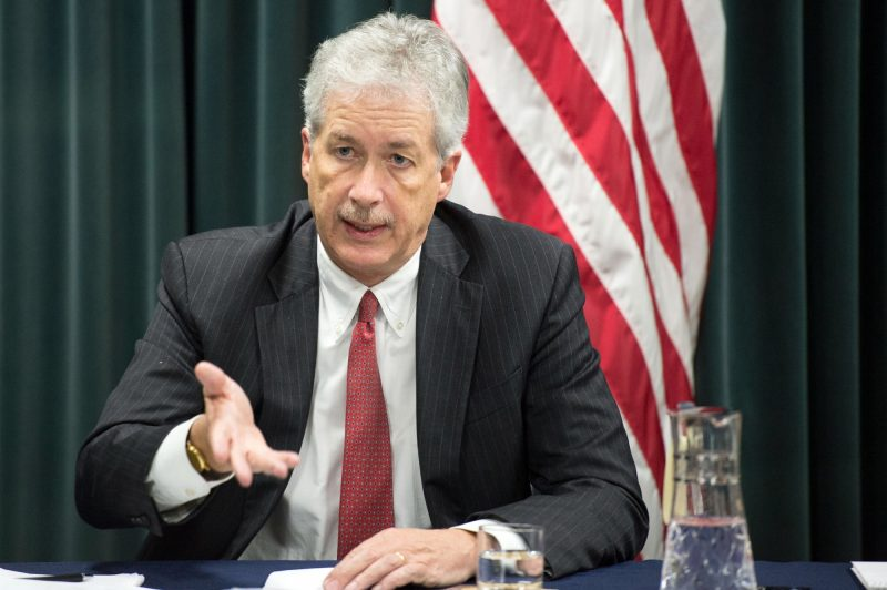 William Burns, who is President-elect Joe Biden nominee for director of the Central Intelligence Agency. (File photo: State Dept./IANS).
