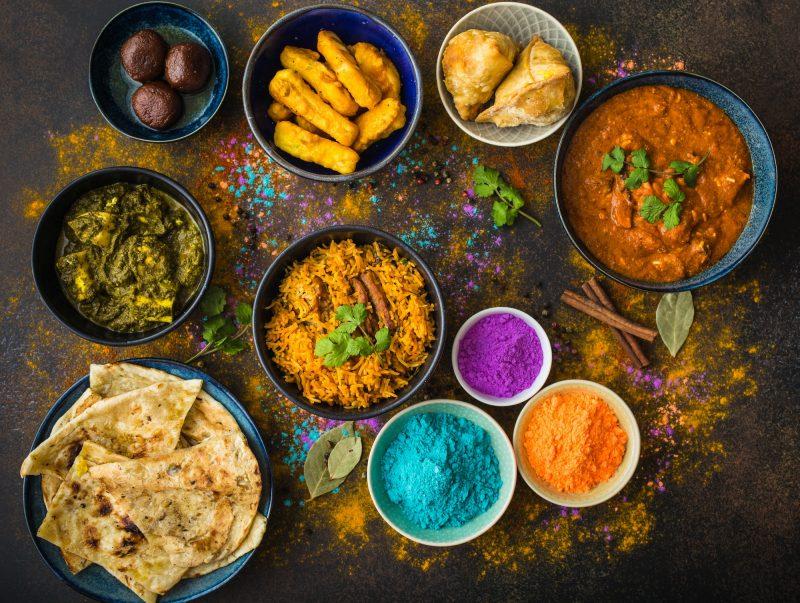 Indian Holi food